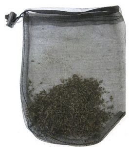2,000 mosquitoes in a catch bag, caught with a Biogents mosquito trap