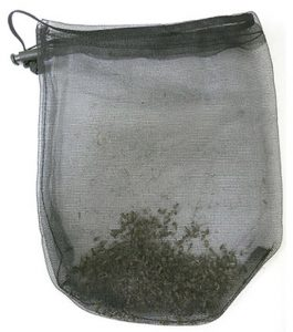 800 mosquitoes in a catch bag, caught with a Biogents mosquito trap