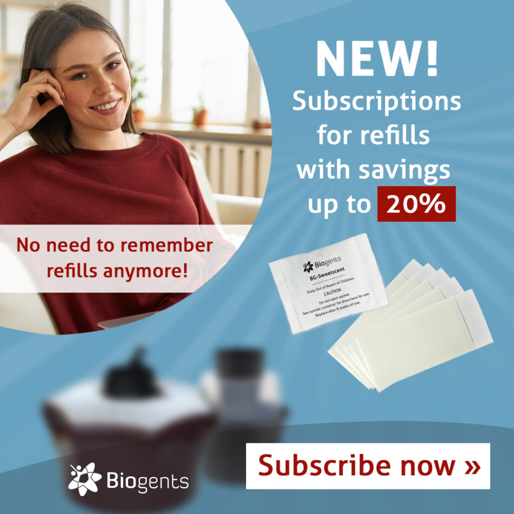 Save up to 20% by subscribing for our refills