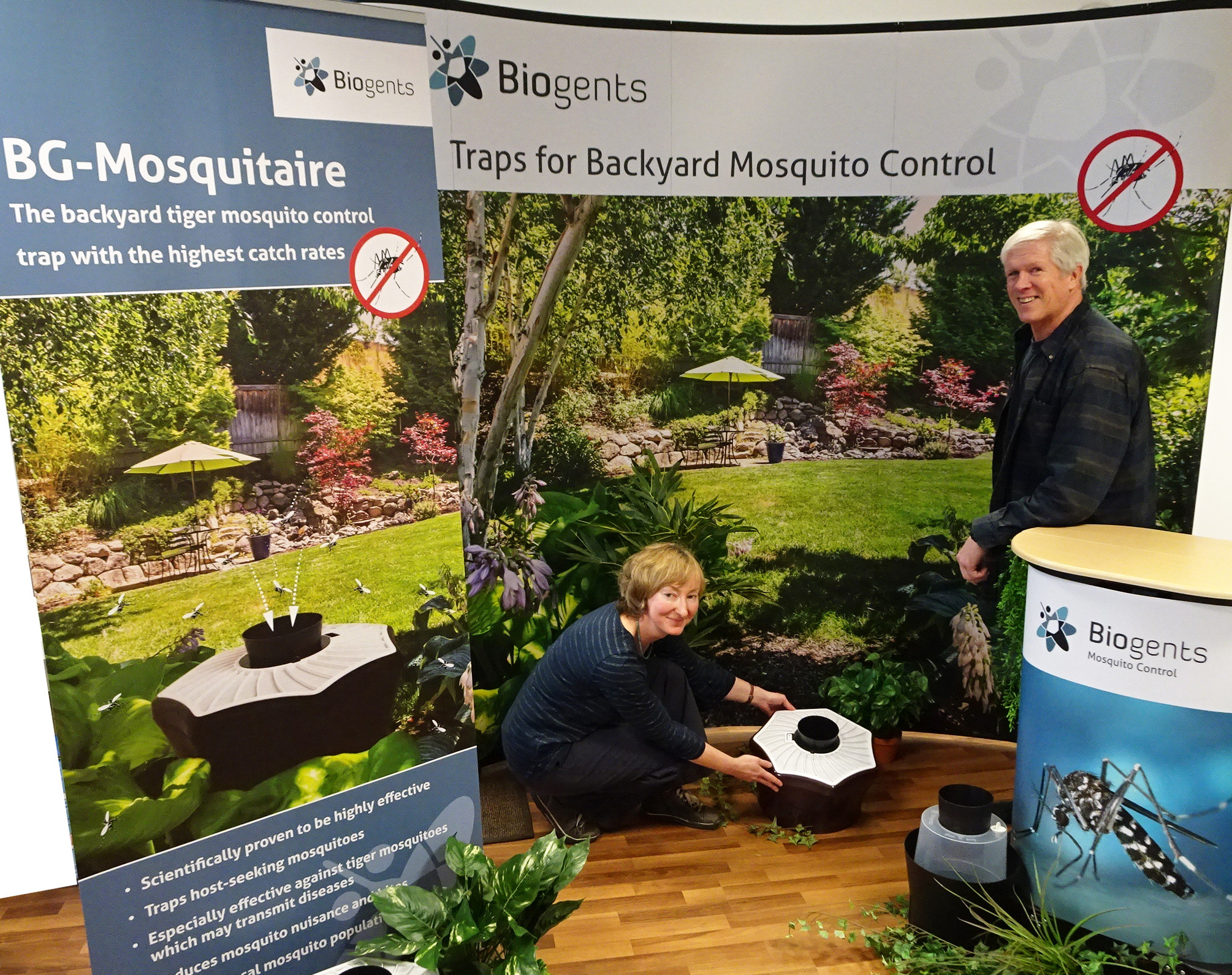 Biogents will be at the Remodeling & Garden Show in Chantilly, VA in Feb. 2018