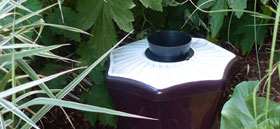 BG-Mosquitaire: Biogents mosquito trap that is especially attractive for tiger mosquitoes.