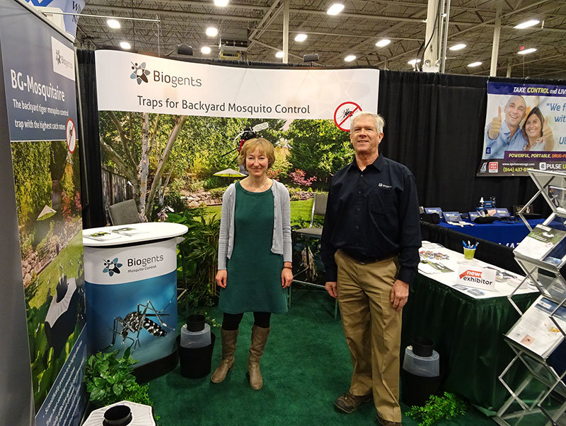 Biogents Presents Its Traps At The Capital Remodel Garden Show In The Dulles Expo Center