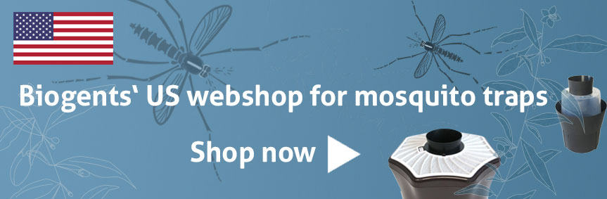 Biogents has launched its new US webshop for mosquito traps