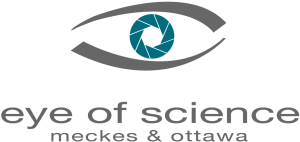 Logo eye of science, Meckes & Ottawa