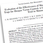 Publications about Biogents traps