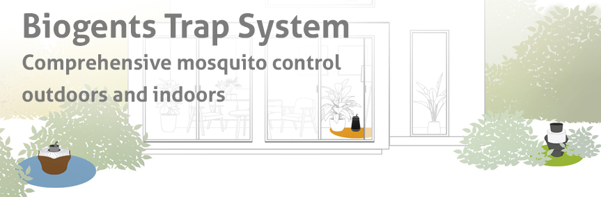 Biogents Trap System: Comprehensive protection against tiger mosquitoes – outdoors and indoors